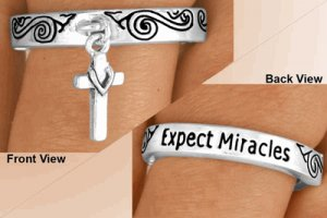 Expect Miracles Ring