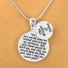 The Prayer Of Jabez - 1 Chronicles 4:10 -  Charm and Necklace