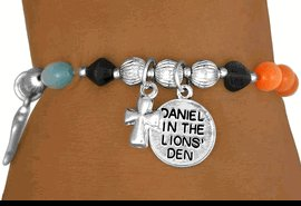 Daniel In The Lion's Den - Girl - Stretch Bracelet