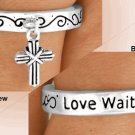 "Purity Ring - True Love Waits ""Love Waits"" Abstinence Ring Message"
