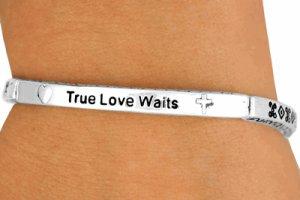 True Love Waits bracelet - Abstinence and Purity bracelet