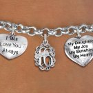 Sweet 16 Special Birthday Girl Themed Charm Bracelet