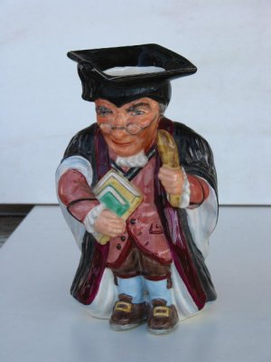 Wedgwood Schoolteacher Character Jug