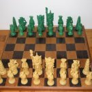 Chinese Plastic Chess Set