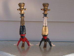 Acrobat Candleholders