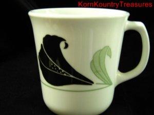 Corelle Corning Black Orchid Mug Cup