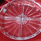 Indiana Glass Colonial Panel Divided Relish Dish