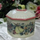 Avon Sweet Country Harvest Octagon Covered Dish