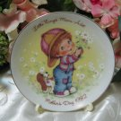 Avon Mothers Day Plate 1982