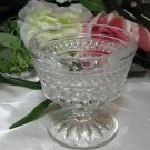 Anchor Hocking Wexford Footed Sherbet Dish