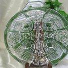 Indiana Glass Killarney Clear Relish Dish