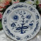 House of Prill Blue Onion Salad Plate