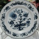 House of Prill Blue Onion B&B Plate