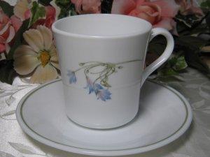 Corelle Blue Dusk Cup Saucer Set