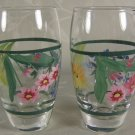 Floral Shot Glasses Handpainted