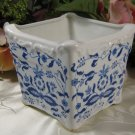 Blue Onion Planter Made in Japan