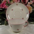 Richard Ginori China Cup & Saucer Made in Italy Pink
