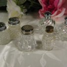 Crystal Glass Salt Pepper Shaker Sets