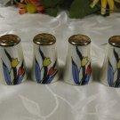 Lusterware Salt Pepper Shakers Japan