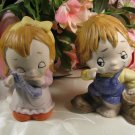Boy and Girl Figurines Cute