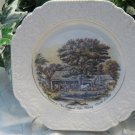 Nelson Currier & Ives Cider Making Plate