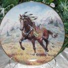 Windcatcher Cheyenne War Pony Perillo Collector Plate