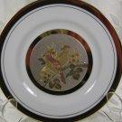 Art of Chokin Plate Two Birds
