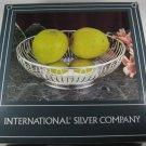 International Silver Silverplated Wire Basket