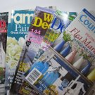 Lot Decorating Magazines 5 Issues