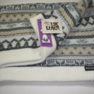 Muk Luks Funnel Scarf Ice Princess Small NWT