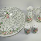 Brinnco Fine China Salad Set Japan
