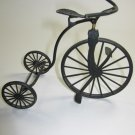 Decorative Black Tricycle Metal