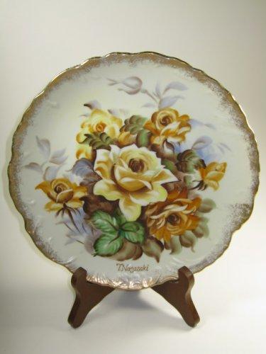 Ucagco Decorative Plate Signed Japan
