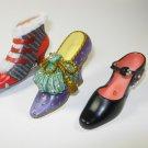 Resin Shoe High Heel Ornaments Lot 5