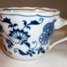 Blue Danube Blue Onion Cup Rectangle Mark Japan
