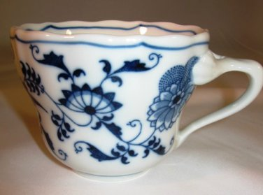 Blue Danube Blue Onion Cup Rectangle Mark Japan