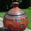 Costa Rica Pottery Tureen Large