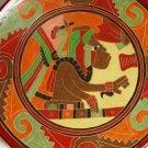 Columbian Art Pottery Plate Replica Hanging Costa Rica