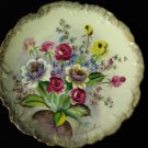 Ucagco Hand Painted Collector Plate Signed K Hayashi