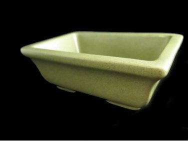 Haeger Pottery Speckled Green Planter Rectangular