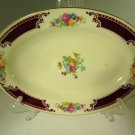 Homer Laughlin Lady Alice Brittany Red Small Serving Platter