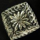 Heavy Lead Crystal Glass Ashtray