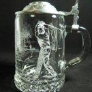 Etched Beer Stein Golf ALWE