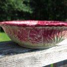B'Artigiana Bowl Italy Green Red Cabbage