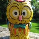 Vintage Oscar-Owl  Hoot NapcoWare Bank Chalkware