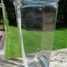 Square Glass Vase 9 Inches Tall