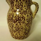 RRP Brown Spatter Pitcher USA 2.5 QT