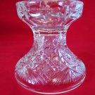 Vintage Pressed Glass Punch Bowl Stand Base Starburst Design