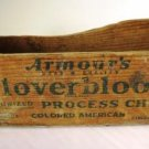 Armour's Cloverbloom Wood Cheese Box