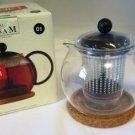 Bodum Assam Tea Press Teapot Pint NIB